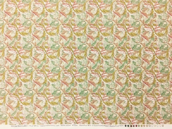 William Morris 2017 Acanthus1875 / Rose-Aquaの写真