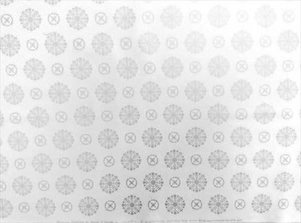 Vintage Holiday snowflakes / silverの写真